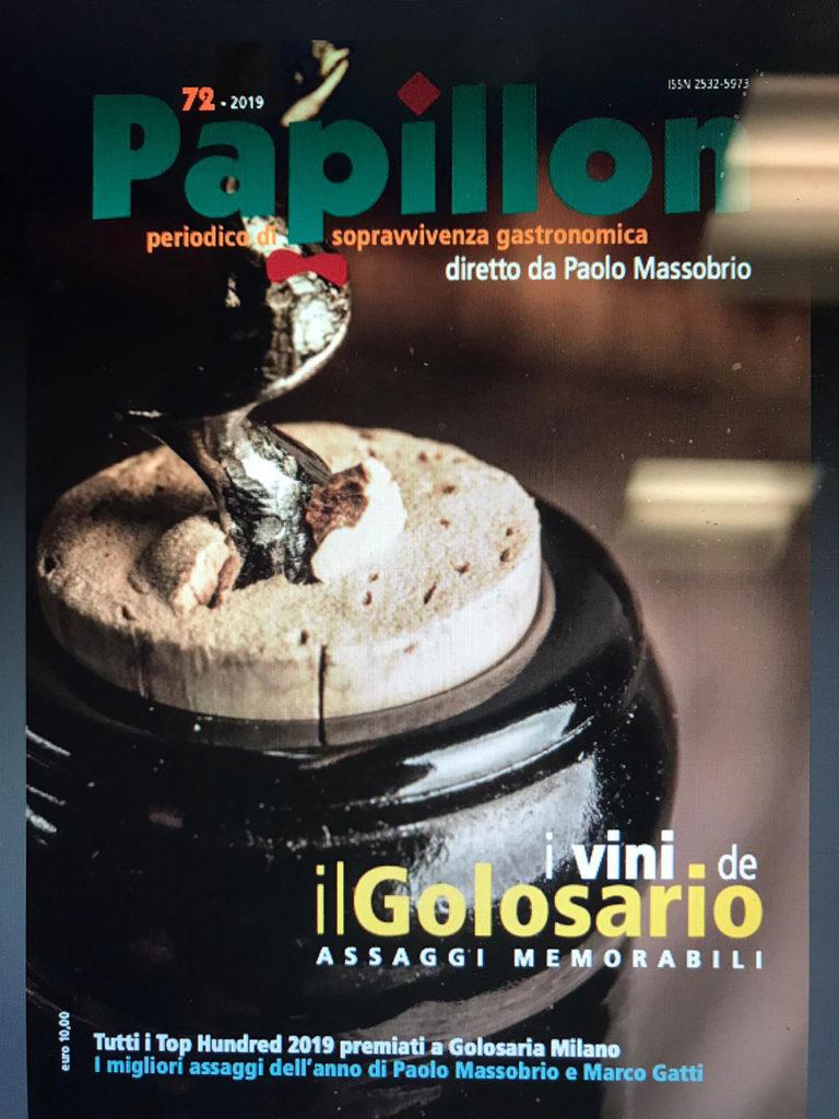 copertina papillon 2019